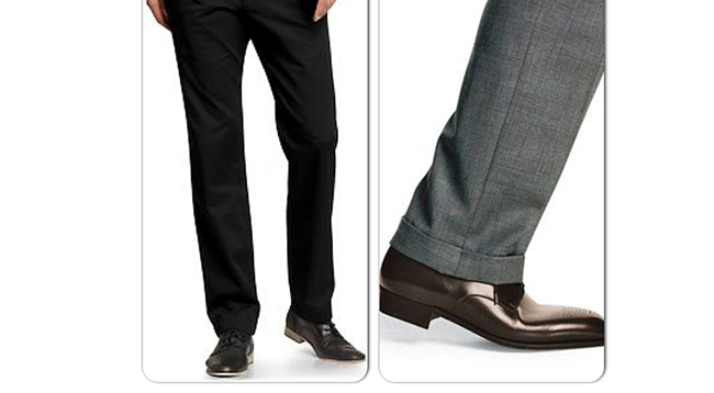 length of your trouser