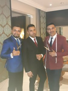 Jay Sean in Knights & Lords suit