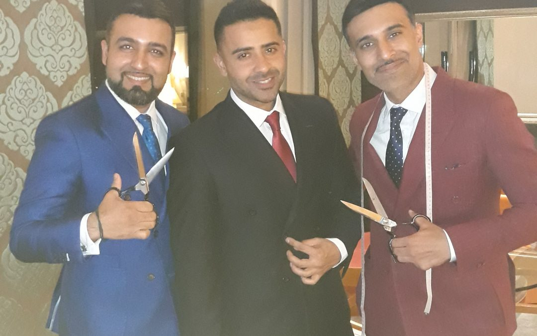 Jay Sean – Multi Award Winning Singer and Songwriter wears Double Breasted Suit crafted by Knights And Lords for Red Carpet Event